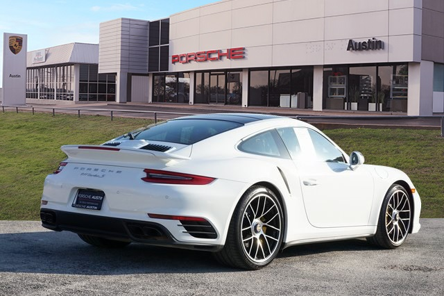 Certified Pre-Owned 2018 Porsche 911 Turbo S