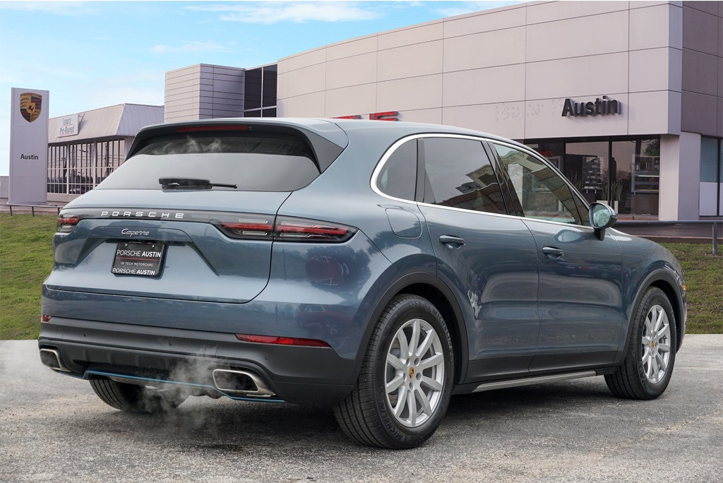 New 2019 Porsche Cayenne Demo